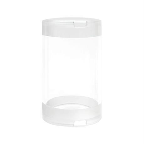 """2インチアクリル耐圧容器(長さ100mm) − Cast Acrylic Plastic - 100 mm (3.9"""") - 450 m"""
