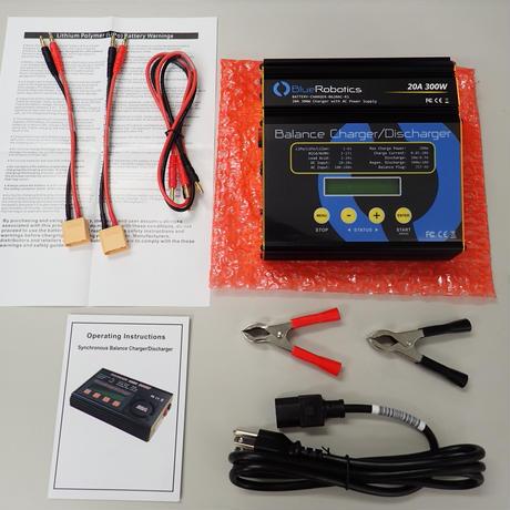 【廃盤】BlueROV2 純正チャージャー − Lithium Battery Charger【後継品あり】