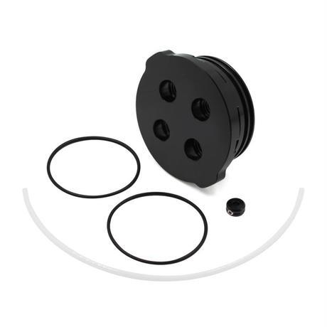 2インチフランジキャップ(4穴) − Flange Cap - Aluminum - 4 Holes - 950m