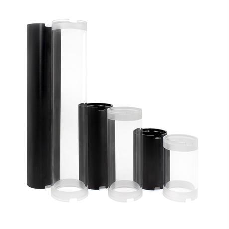 """2インチアクリル耐圧容器(長さ300mm) − Cast Acrylic Plastic - 300 mm (11.8"""") - 150 m"""