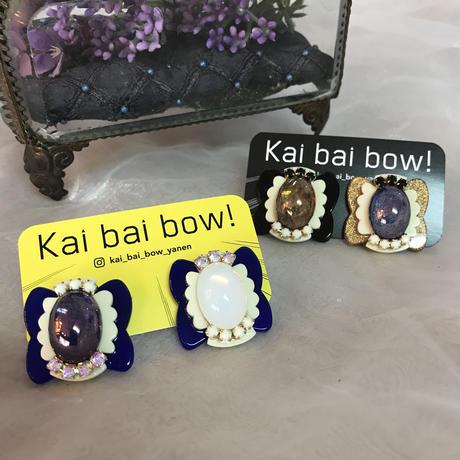 Kai bai bow! てふてふピアス・イヤリング