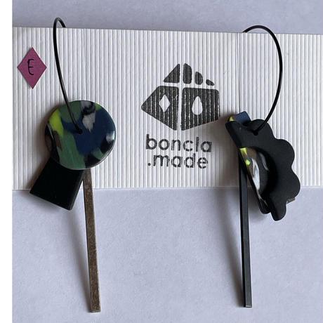 boncla.made ステンフープ イヤリング