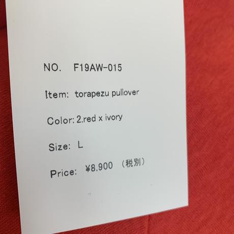 folk made  torapezu  pullover  L size