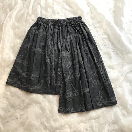 UNIONINI embroidery asymmetry skirt10〜12y(140㎝〜146㎝)size