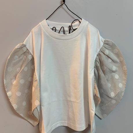 nunuforme  ギャザースリーブT shirt  125size  135size