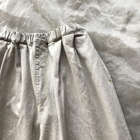 frankygrow TEPERED DENIM PANTSレディース size