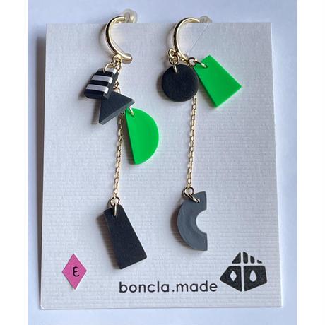 boncla.made ワカサギ釣り大漁 イヤリング