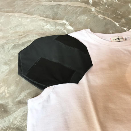 franky grow  DISTORTED CIRCLE SLEEVES TEE LL size