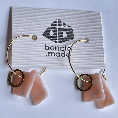 boncla.made ステンフープ ピアス