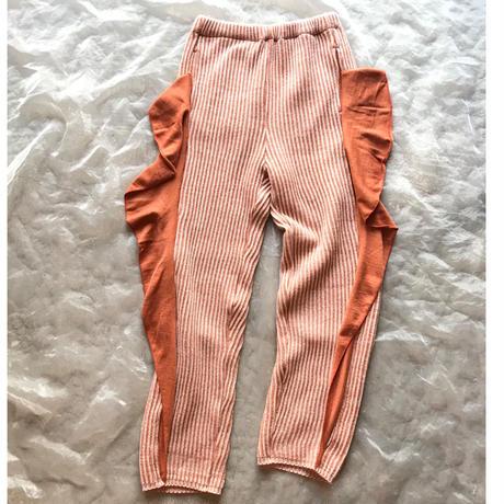folk made frilled rib stitch pants レディース size