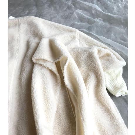 UNIONINI boa long coat Ssize