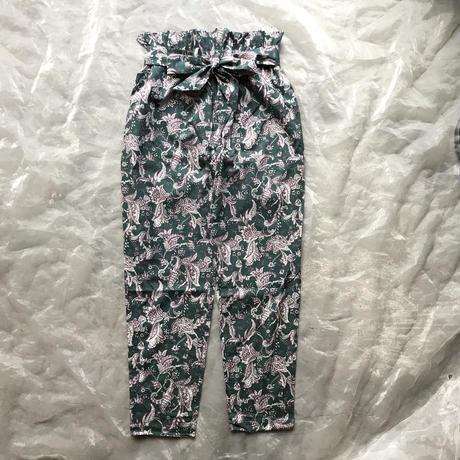 eLfinFolk Leaf paisley pants レディースM size