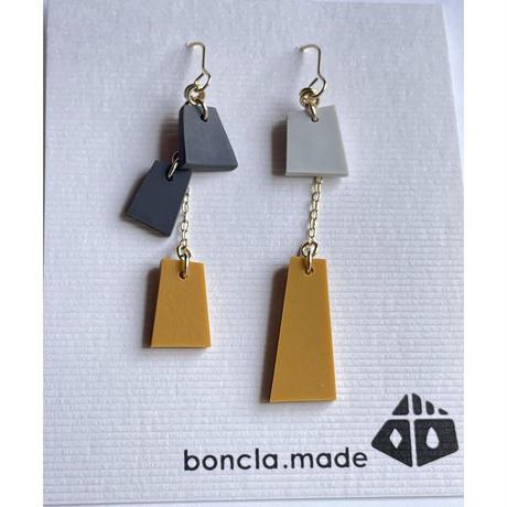 boncla.made ワカサギ釣りノーマル ピアス