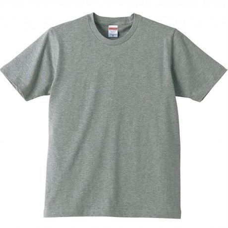 猟師Tシャツ(グレー☓黒文字)