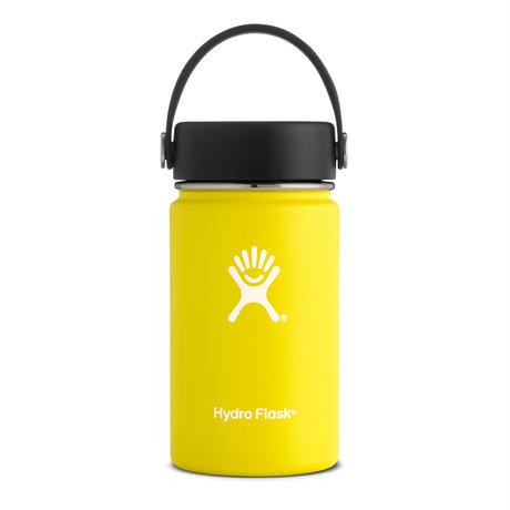 Hydro Flask/12 oz wide mouth(lemon)