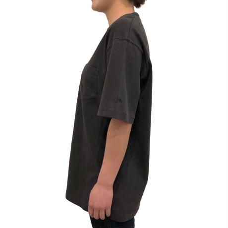 uni/pocket T-shirt(charcoal gray)