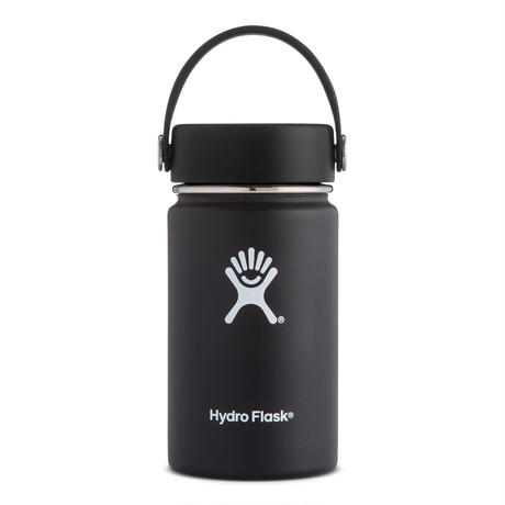 Hydro Flask/12 oz wide mouth(black)