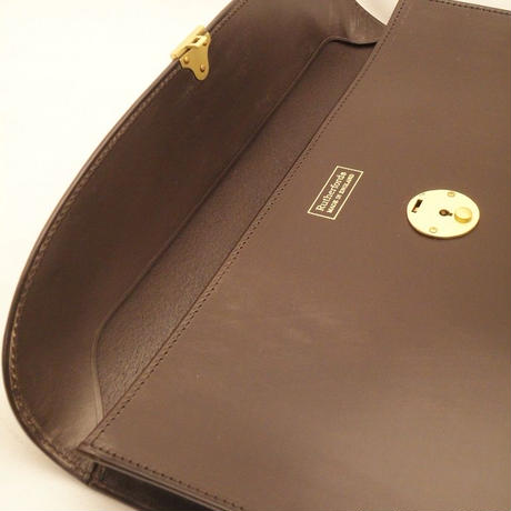Rutherfords / Folio Case with 808 Lock / Chocolate