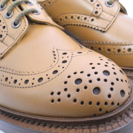 Tricker's × UW / Country Brogue Shoes / C-Shade