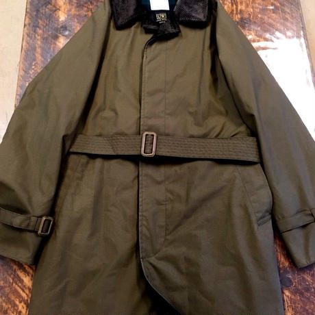 Soundman ×UW / The British Millerain Long Coat 2