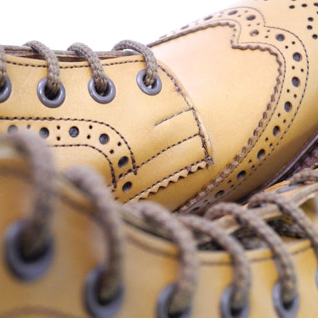 Tricker's × UW / Country Brogue Boots / Acorn