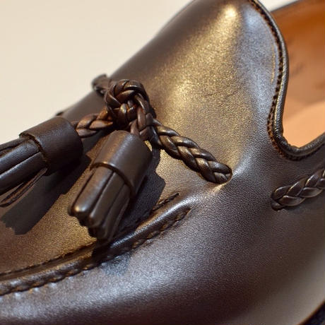 Joseph Cheaney  / HUGH /  Tassel Slip On Shoes / Mocha