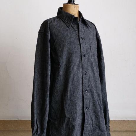 BONCOURA / Black Chambray Shirt  (UNION WORKS LIMITED)