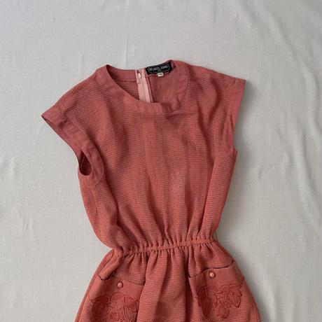 summer pink one-piece