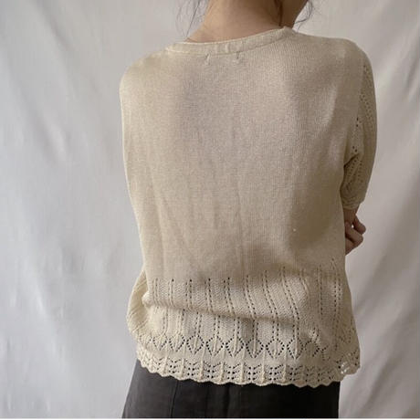 lace summer knit