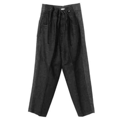 Rito   DRAWSTRING PANTS   black