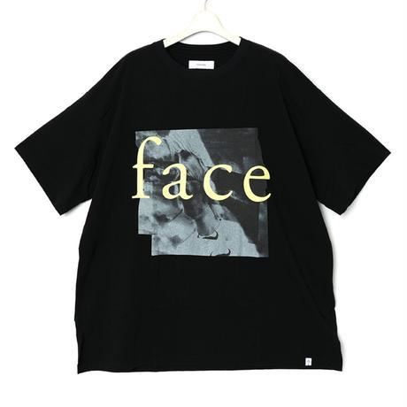 facetasm MOVIE TEE3  BLACK