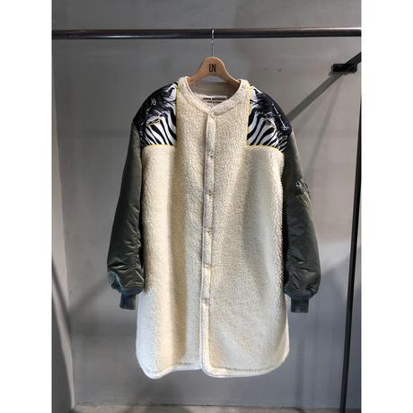 JUNYA WATANABE × VERSACE scarf ボアコート