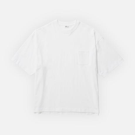 205  WIDE BOX TEE  |  WHITE
