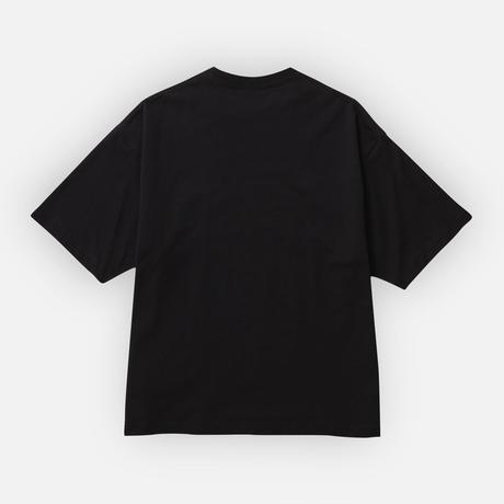 205  WIDE BOX TEE     BLACK