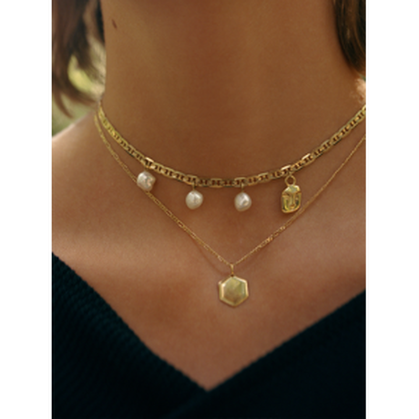 Kim Necklace Gold