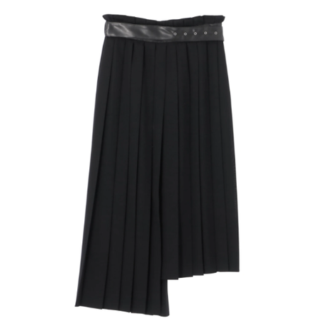 Rito   WOOL VIERA PLEATED SKIRT