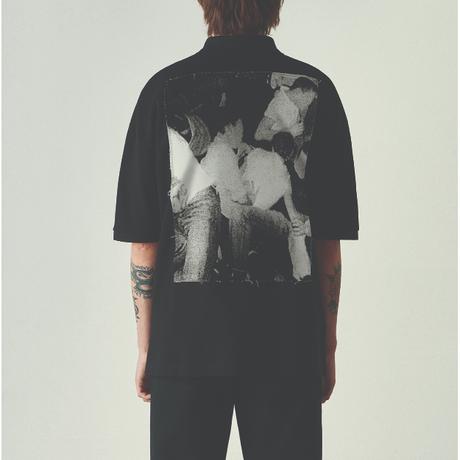 Raf Simons Oversized Printed Polo Shirt