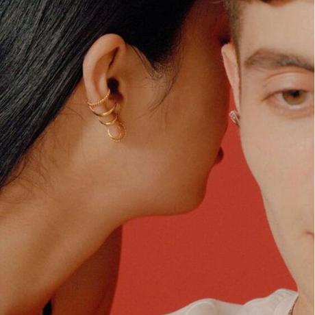 MARIA BLACK  sofia earcuff gold