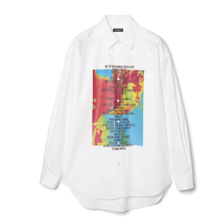 GRAPHIC PRINT SHIRT  白