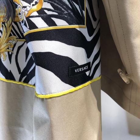 JUNYA WATANABE × VERSACE scarf トレンチコート