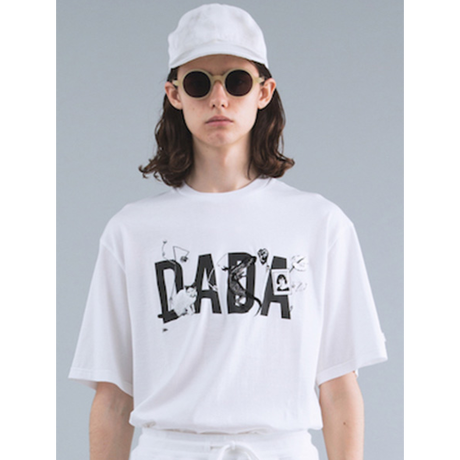 CHRISTIAN DADA  DADA LOGO EMBROIDERY T-SHIRT