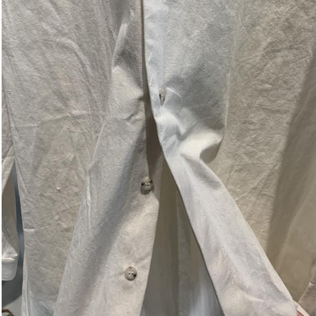 STAND COLLAR SHIRT A / OFF WHITE