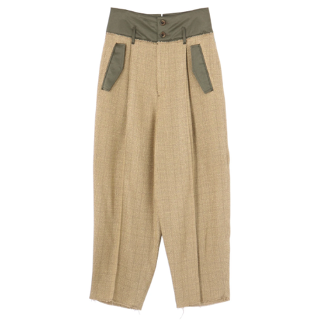 Rito  SUMMER TWEED PANTS