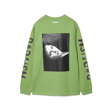 CHRISTIAN DADA    graphic print long sleeve pocket T-shirt