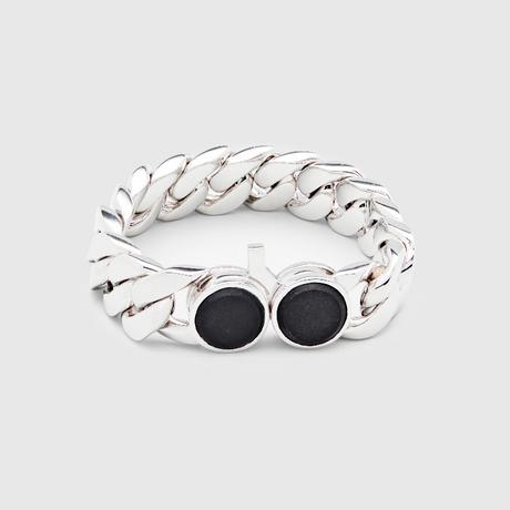 TOMWOOD /Slim Bracelet M Onyx