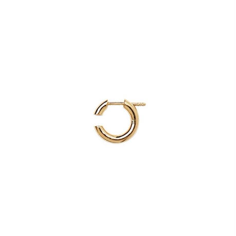 Disrupted 14 Earring gold