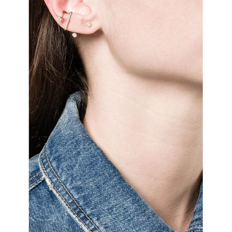Fine Collection Avery Earcuff  - Yellow Gold