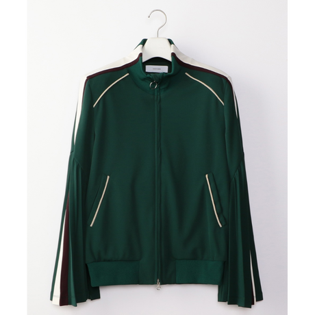 facetasm  PLEATED SLEEVE TRACK JACKET
