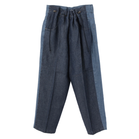 Rito DRAWSTRING PANTS  blue