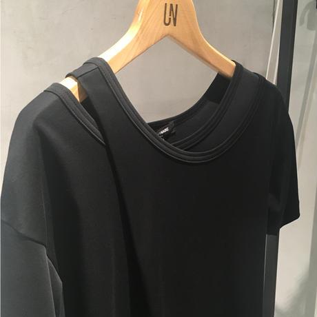 レイヤード風 t-shirt